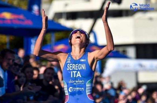 Bianca Seregni è bronzo all'esordio in Coppa del Mondo di triathlon